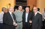 Danilo Ucha, Fábio Branco (Prefeito de Rio Grande), Paulo Bertinetti e Paulo Gasparotto